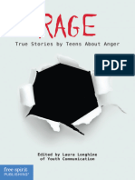 (Real Teen Voices) Youth Communication,Laura Longhine-Rage. True Stories by Teens About Anger-Free Spirit Publishing (2012)