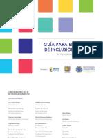 Guia Para El Proceso de Inclusion Laboral de Pcd