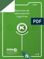 Alzheimer. Cuadernillo de ejercicios de estimulación cognitiva. Leve Nº 2.pdf