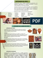 Artesanía en El Perú