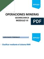 Modulo VII Clasificacion Geomecanica I