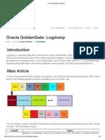 Oracle GoldenGate_ Logdump