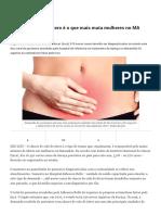 Câncer de Colo de Útero é o Que Mais Mata Mulheres No MA - O Estado Do Maranhão
