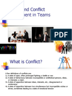 Managing Conflict in Teams