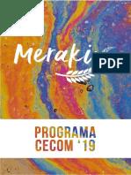 Programa Meraki CECOM '19