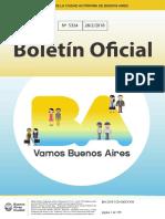 BOLETIN OFICIAL CABA