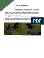 Jatuh Dari Sepeda