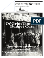 Volume 30, Issue 8 - Of Grim Times & Budget Cuts