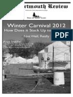 Volume 31, Issue 8 - Winter Carnival 2012