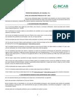 Edital Prefeitura Valença - Rj
