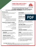 PSHE Secondary Workshops v.09.10