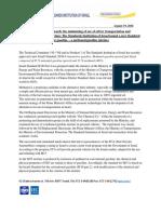 Israel M15 Press Release 8 2016