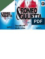 Buiglietto Romeo e Giulietta