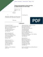 CREW v. Donald Trump Ethics Complaint 1-23-17