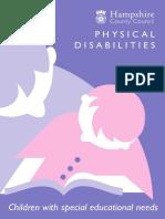 Physical Disability Leaflet 3