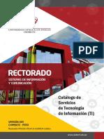 Catalogo Servicio Tecnologia Informacion v005 ULADECH