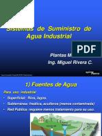 Clase 11 Suministro de Agua Industrial
