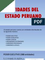 Entidades Del Estado Peruano
