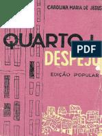 1960 - Quarto de Despejo