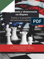 GANDÁSEGUI Marco - Hegemonía y Democracia. Trump y La Geopolít.del Neoconservadurismo