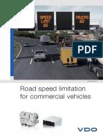 Brochure Road Speed Limitation GB