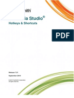 Camtasia Studio 7 Hotkeys and Shortcuts