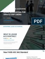 Oracle Lease Accounting Webinar Slides