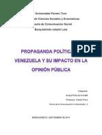 Propaganda Poltica en Venezuela y su Impacto en la Opinion Publica..docx