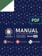 Manual Para El Ejercicio Profesional Colmed 2018 BajaRes