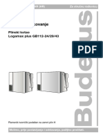 Logamax Plus GB 112-24!29!43 Mont Rukovanje 7205 07 00 HR
