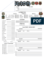 Scion 2e - Character Sheet