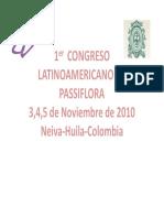 Seminario Passifloras Udea