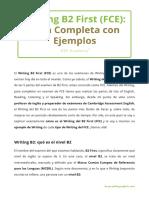Writing B2 Guía Con Ejemplos