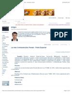 Lei das Contravenções Penais - Parte Especial - Artigos - Conteúdo Jurídico