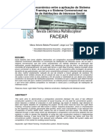Comparativo Economico Entre a Aplicacao Do Sistema Light Steel Framing e o Sistema Convencional Na Construcao de Habitacoes de Interesse Social (1)