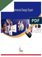 CATIA V5 MECHANICAL DESIGN EXPERT