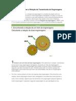 Como Determinar a Relação de Transmissão de Engrenagens.pdf