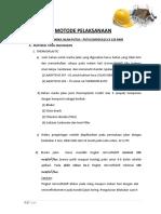 METODE PELAKSANAAN Marka Jalan Provinsi Aceh