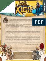 Lords of Xidit - Manual de Reglas (Español)