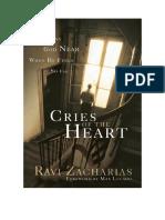 Gritos Del Corazón- Ravi Zacharias.