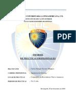 Informe de Practicas - Final