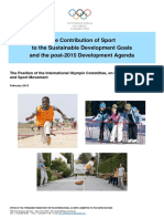 Sport Contribution to Post 2015 Agenda Eng Feb