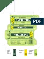 Vitacilina Códigos Pantone