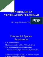 Control de La Ventilacion Pulmonar