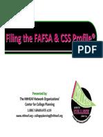 FAFSA and Profile