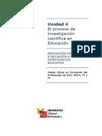 El Proceso de Investigación Científica en Educacion - Fases