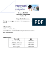 BUS 620 Report