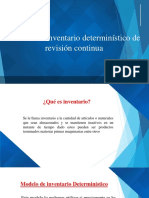 Presentacion Modelo Deterministico de Revision Continua