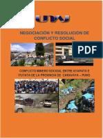 Análisis de Conflictos Sociales