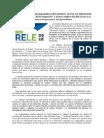 """Ganadores del concurso """"Acceso a la Información Pública y Periodismo de Investigación"""""""